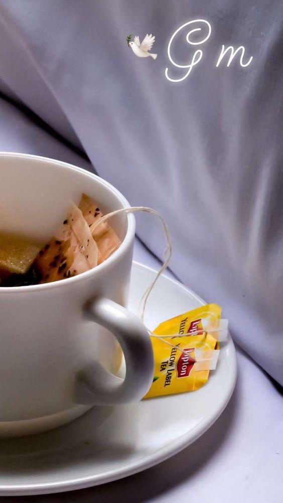 foto tumblr de taza de té
